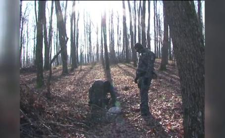 Bărbatul care şi-a legat copilul de un copac şi l-a torturat, internat la Spitalul de Neuropsihiatrie de la Săpoca