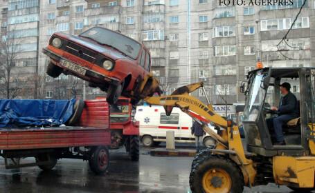 Continuarea actiunii de ridicare a autovehiculelor abandonate sau fara stapan, din sectorul 2.