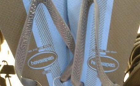 Fotografia care a impartit internetul in doua: ce culoare are aceasta pereche de slapi? FOTO