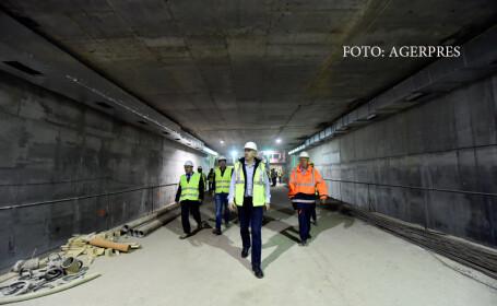 Trafic redeschis partial in Drumul Taberei. Noile statii de metrou pot fi vizitate ca la muzeu, in tururi cu ghid