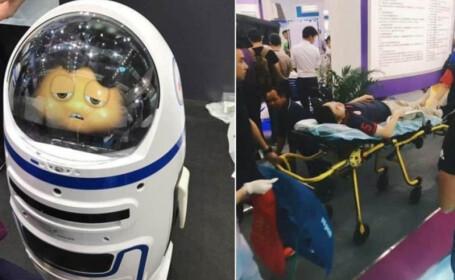 robot violent china