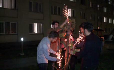 Ce fac studentii musulmani din Sibiu in apropierea sarbatorii Nasterii Domnului. \