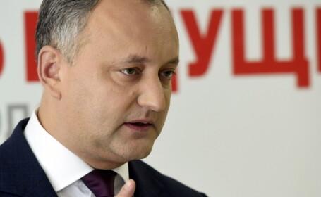 Presedintele ales al Republicii Moldova, Igor Dodon: \
