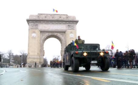 Arcul de Triumf, din Capitala, reinaugurat dupa 2 ani. Monumentul, proiectat sa reziste la cutremure de magnitudine 8