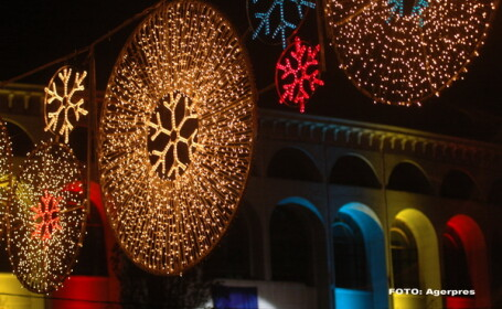 lumini de Craciun in Bucuresti