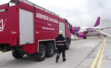 Simulare accident Cluj