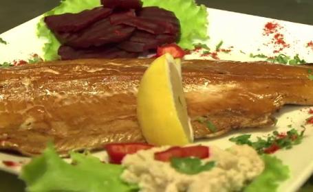 Delicatesele ridicate la rang de artă îşi fac loc în bucătăria românească. Preţul unui păstrăv afumat
