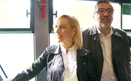 Gabriela Firea și ministrul Culturii au mers cu RATB-ul: \