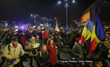 Mii de români protestează față de modificarea legilor Justiției