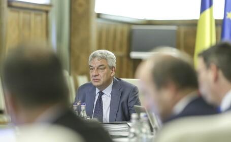 Premierul Mihai Tudose conduce sedinta saptamanala de Guvern