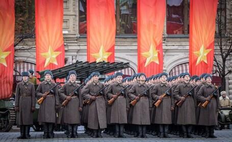 Paradă militară în Piața Roșie