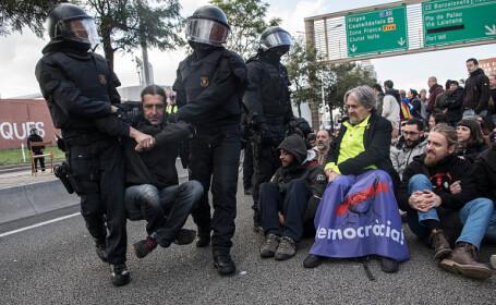 Proteste în Catalonia