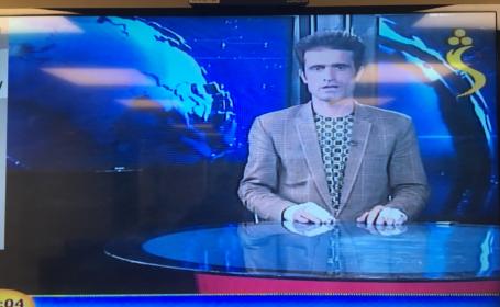 Prezentator televiziune din Afganistan