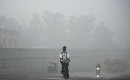 Poluare New Delhi