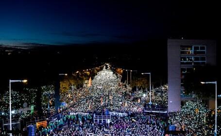 Marș în Barcelona pentru eliberarea liderilor separatiști