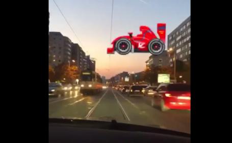 Marius Niculae s-a filmat conducând periculos prin București. VIDEO