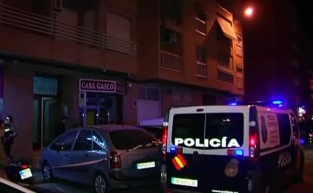 Un român din Spania şi-a ucis fiica de 2 ani, apoi s-a aruncat de la etaj