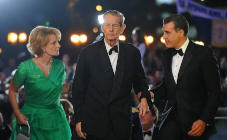 regele Mihai, principesa Margareta si Radu Duda la Operă, la aniversarea a 90 de ani