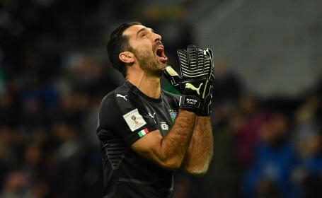 Italia, eliminată de Suedia în barajul pentru Cupa Mondială din 2018