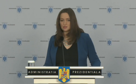 Purtătorul de cuvânt al preşedintelui României, Mădălina Dobrovolschi