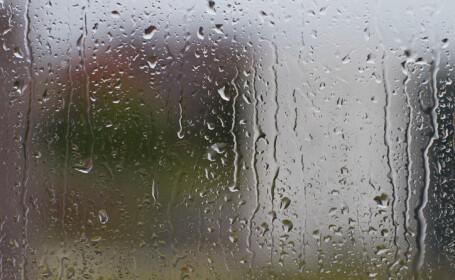 ploaie, geam cu picaturi