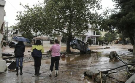 Inundatii langa Atena