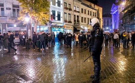 Violențe de stradă în Bruxelles