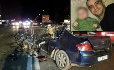 Jandarm aflat în timpul liber, decedat după ce s-a ciocnit cu un TIR