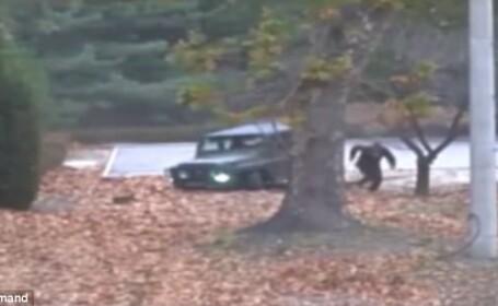 Coreea de Nord, acuzată de încălcarea armistițiului cu Sudul. Momentul în care dezertorul este împușcat de militari. VIDEO