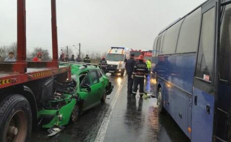 Accident pe DN 7