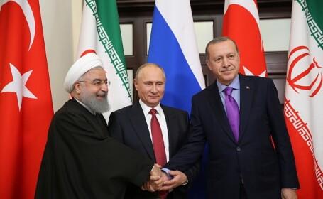 Putin, Erdogan, Rouhani