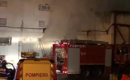 Incendiu sala de sport, Cluj