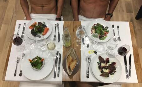 Restaurant pentru Nudisti