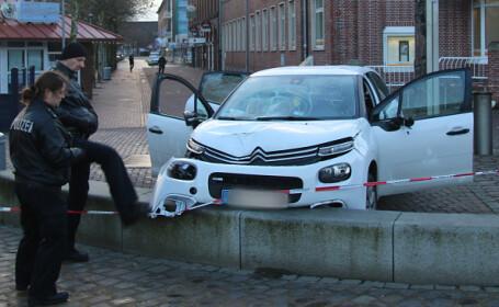 Un sirian a intrat cu mașina în pietoni în Germania, rănind şase persoane