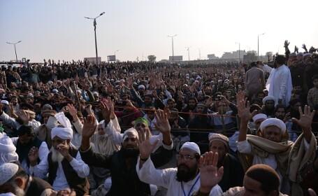 Protest violent în Pakistan