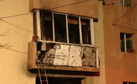 Incendiul de la blocul din Timișoara, pus intenționat. Un bărbat a fost reținut