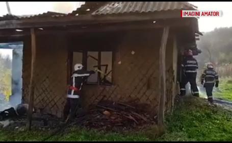Incendiu la Bistrita Nasaud