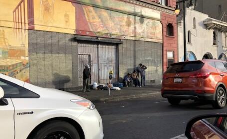 Oameni ai strazii in San Francisco