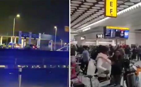 Heathrow, alerta, pachet,