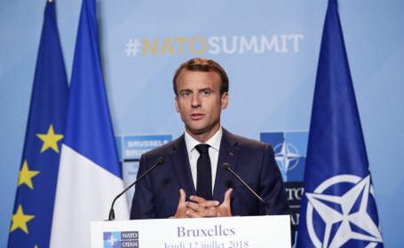 Două persoane arestate în Franța pentru că au plănuit asasinarea lui Emmanuel Macron