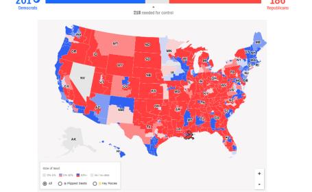 Alegeri SUA. Democrații preiau controlul în Camera Reprezentanților. Votul femeilor a avut un rol decisiv