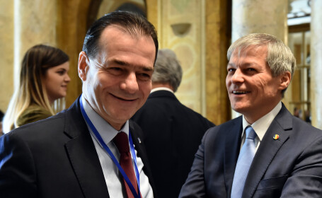 Dacian Ciolos, Ludovic Orban