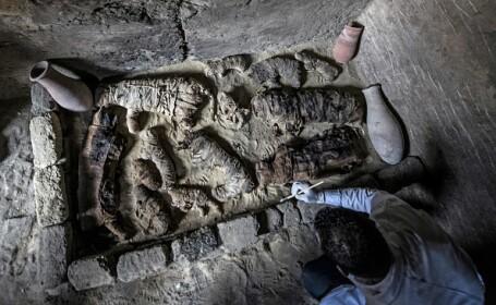 """Descoperire rară în morminte vechi de peste 6000 de ani, în Egipt. """"Ceva cu adevărat unic"""". FOTO"""
