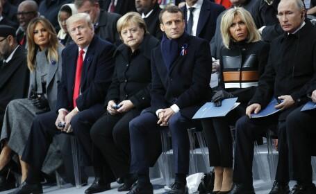 Liderii lumii, reuniți la Paris pentru o ceremonie impresionantă