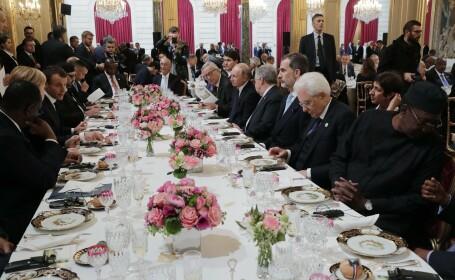 Francezii i-au separat pe Putin și Trump la masă. Anunțul făcut de liderul rus