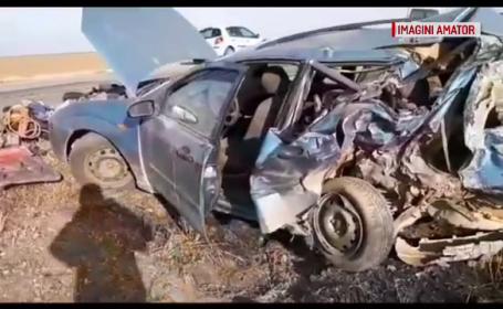 Două persoane lovite de un șofer bulgar, în timp își reparau mașina, la marginea drumului