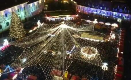 Pregătiri în toi la Sibiu pentru târgul de Crăciun. Surprizele care îi așteaptă pe oameni
