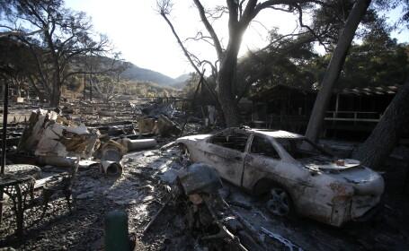 42 de morți în incendiile din California. 200.000 de oameni au fost evacuați