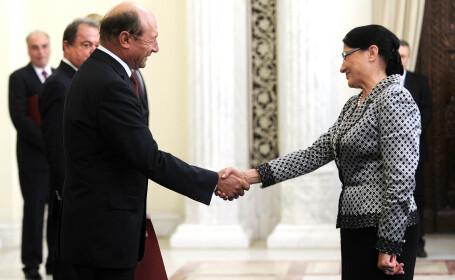 """Traian Băsescu: """"Ecaterina Andronescu, blestemul sistemului de educaţie românesc, revine în Guvern"""""""