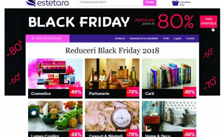 Reduceri de Black Friday esteto